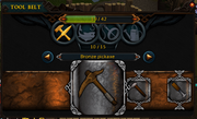 Toolbelt interface