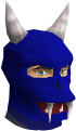 Blue h'ween mask chathead