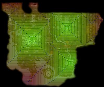 Low threat area combat levels