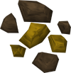 Gold ore detail