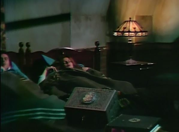 File:Philip and Megan Todd's bedside table lamp originally from Vicki's room at Collinwood ep892.jpg