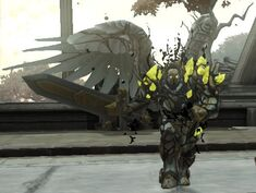 Corrupted angel champion