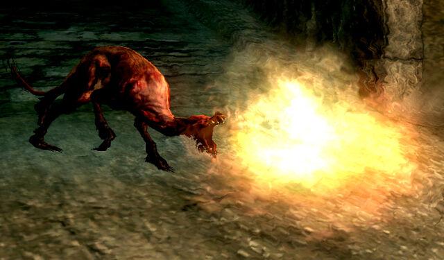 File:Flaming Attack Dog Action.jpg