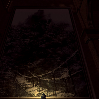 Painting in Anor Londo