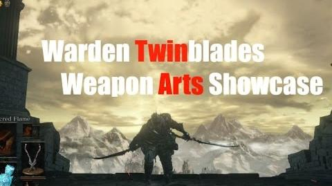 Dark Souls 3 Warden Twinblades - Weapon Arts Showcase