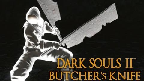 Dark Souls 2 Butcher's Knife Tutorial (dual wielding w power stance)