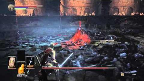 DARK SOULS III Abyss Watchers boss fight