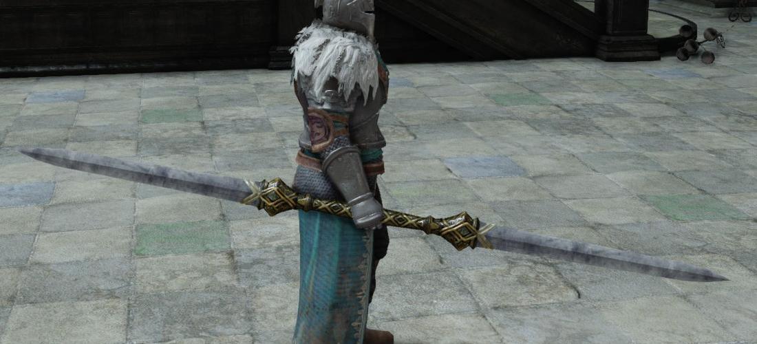 Dark Souls  Dark Blade Build