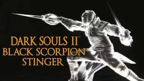 Dark Souls 2 Black Scorpion Stinger Tutorial (dual wielding w power stance)-0