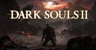 Dark Souls 2 Logo and Character