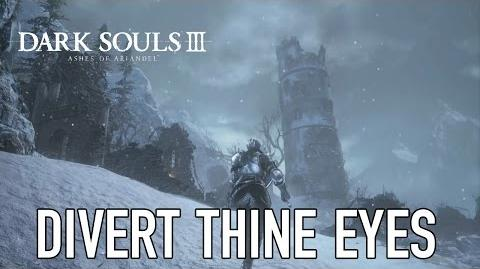 Dark Souls III Ashes of Ariandel - PS4 PC XB1 - Divert thine eyes (Gameplay)