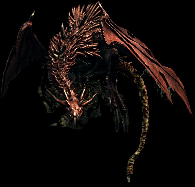 Image - Hellkite Wyvern Render.png | Dark Souls Wiki ...