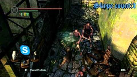 DARK SOULS Fastest way to the deeps (Lower Undead Burg Skip Shortcut)