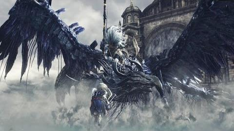 Nameless King and King of the Storm Boss Fight - Dark Souls 3