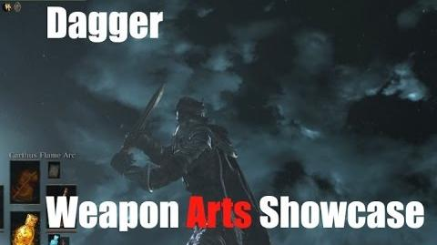 Dark Souls 3 Dagger - Weapon Arts Showcase