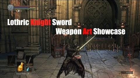 Weapon Arts Showcase Lothric Knight Sword