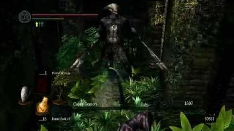 Dark Souls How to defeat Capra Demon