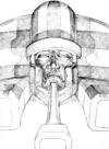 Anakaris Darkstalkers 3 Sketch
