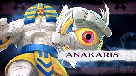 Darkstalkers - Anakaris Moves List
