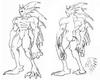 Rikuo Concept Sketch