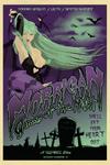 Morrigan Queen of the Night Poster