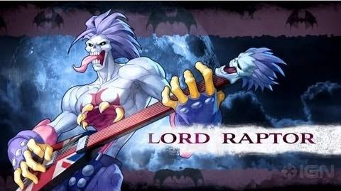 List of Lord Raptor moves