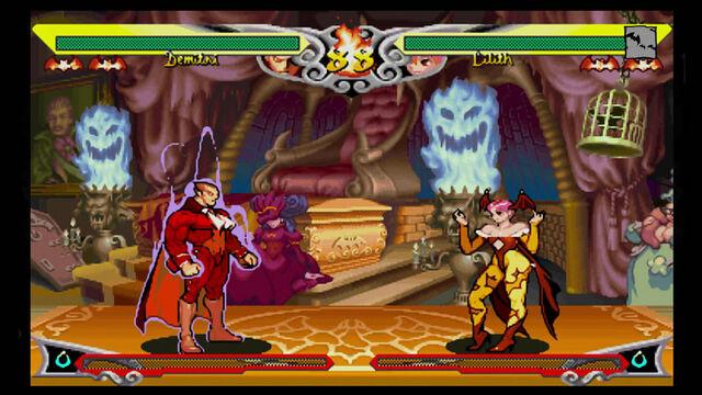 File:Darkstalkers Resurrection Full Screen.jpg