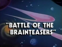 Battle of the Brainteasers title card