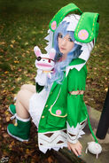 Date A Live Yoshino Cosplay 12