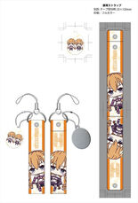 Date A Live II cleaner with smartphone strap wide Yamai
