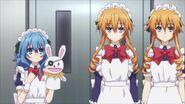 Yoshino and Yamai Sisters as maids