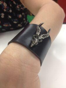 Laini's dragon bracelet