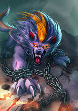Chained Fenrir Summon