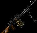 Kalashnikov machine gun