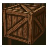 Nailed box