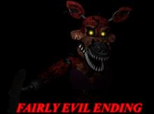 Fairly evil ending