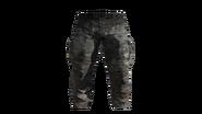 Black Cargo Pants Model (R)
