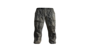 Grey Canvas Pants Model (D-BD)