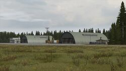 Northwest airfield - NE section