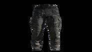 Black Cargo Pants Model (D-BD)