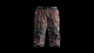 Red Canvas Pants Model (D-BD)