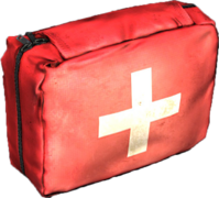 First aid kit pristine