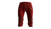 Red Tracksuit Pants Model (P-W)