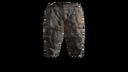 Canvas Pants Short (Beige) Model (R)