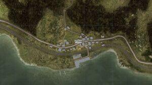 Kamenka - map view