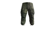 Flat Camouflage Gorka Military Pants Model (D-BD)