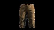Leather Pants Beige Model (D-BD)