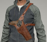 Chest holster example