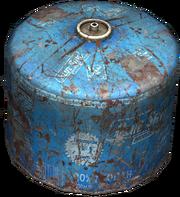 Medium gas canister (damaged)