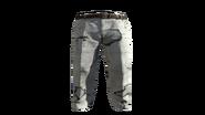 White Slacks Pants Model (D-BD)